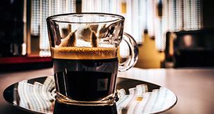 Espresso med perfect crema