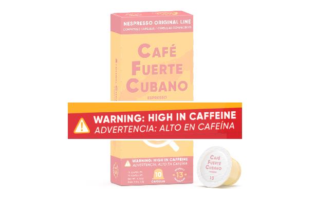 Cafe Fuerte Cubano Nespresso