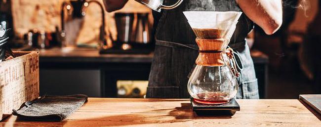 Chemex-kaffebryggning