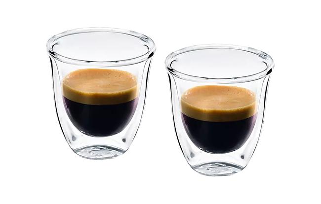 Espresso-glas med crema