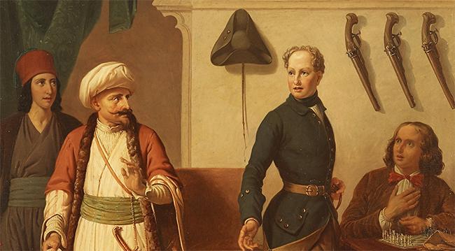 Karl XII i Bender av Brusewitz