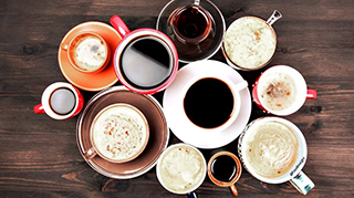 Olika kaffedrycker