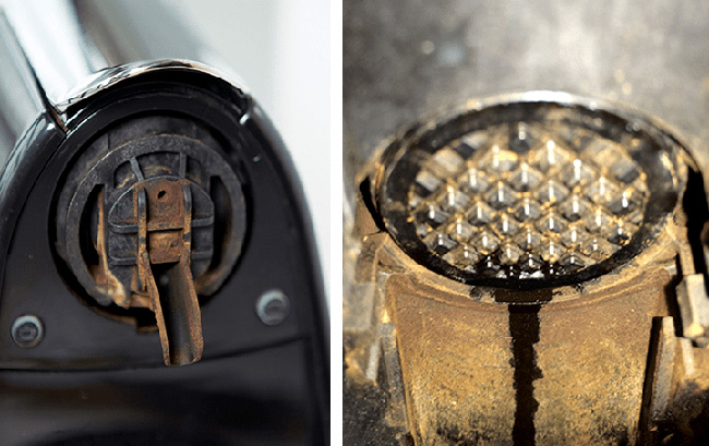 Smutsig Nespresso-maskin