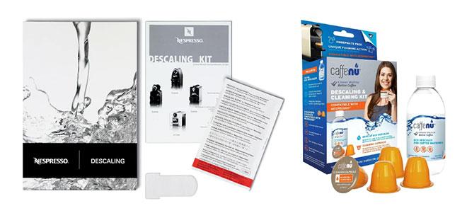 Kit för avkalkning av Nespressomaskiner